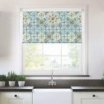 2 Rol-Lite Blinds Louise Body Collection Design A Mixed Folk Roller Blind